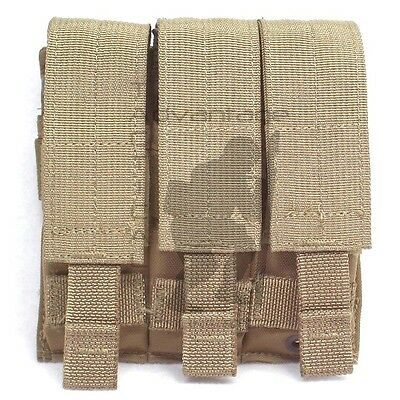 BAE Systems ECLiPSE Double Stack 9mm Triple Mag MOLLE Pouch - coyote brown USMC