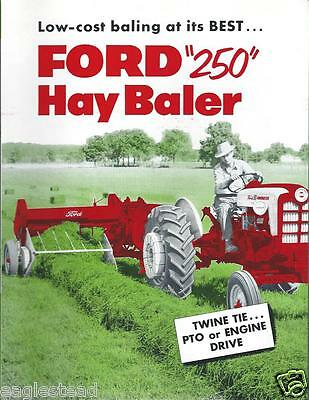 Farm Equipment Brochure - Ford - 250 - Hay Baler - 1958 (F3040)