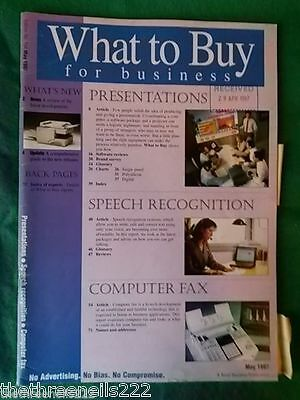 What To Buy For Business #194 - Computer Fax - May 1997