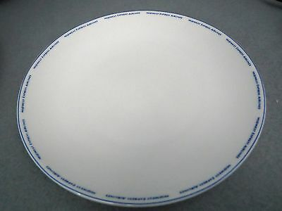 """Vintage Midwest Express Airlines Cookie PLATE 6"""" Snack ~ ABCO CHINA ~"""