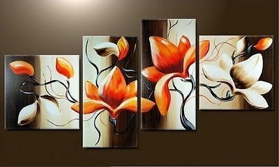 Large Modern Abstract Art Oil Painting Wall Deco canvas(no frame)+gift