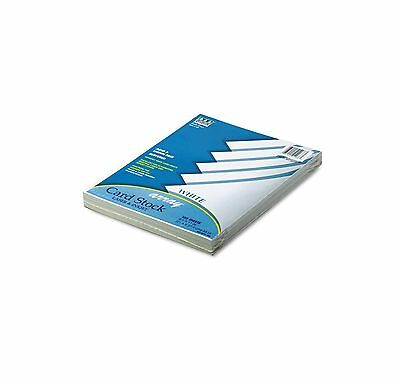 Pacon Array Colored Card Stock 65lb White 100 Sheets PAC101188 New Item
