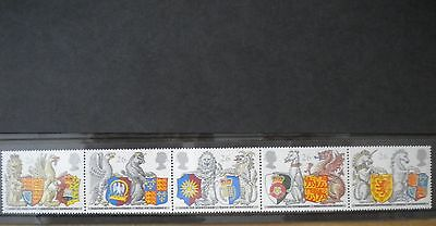 GB Royal Mail Mint Stamps Queens Beasts Order of the Garter 1998 5 Set SG2026-30