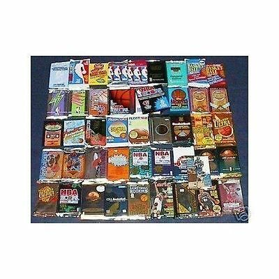Great Lot of 150 OLD Unopened BASKETBALL Cards in Packs