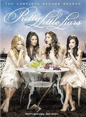 Pretty Little Liars: The Complete Second Season, Good DVD, Lucy Hale, Holly Mari