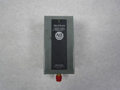 Allen Bradley 836-P11-PHBS Enclosed Pressure Switch 5A 600VAC Max ! WOW !