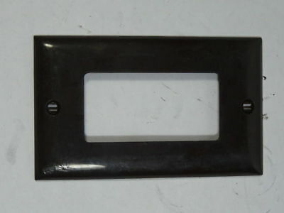 Hubbell Cover Plate Brown ! WOW !
