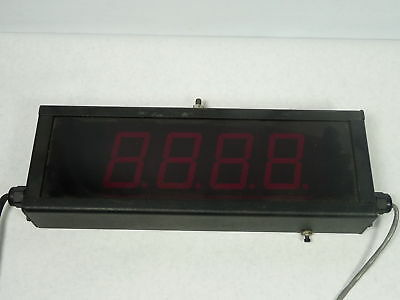 Electronic Displays ED225-109-4D-N1 Four-Digit Up/Down Counter 120V ! WOW !