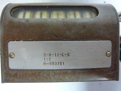 Durant / Eaton Corp. 5-H-11-L-S Counter Stroke 5 Digit ! WOW !