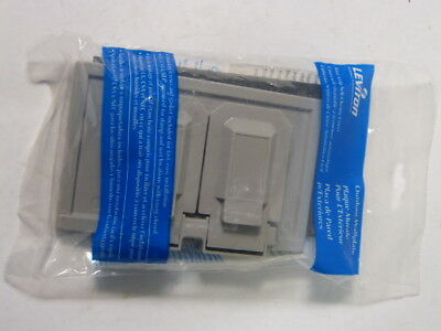 Leviton 4976-GY Gray Weather Resistant Receptacle  NEW IN BAG
