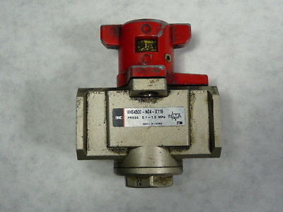 SMC VHS4500-N04-X116 Pneumatic Lock-Out Valve ! WOW !