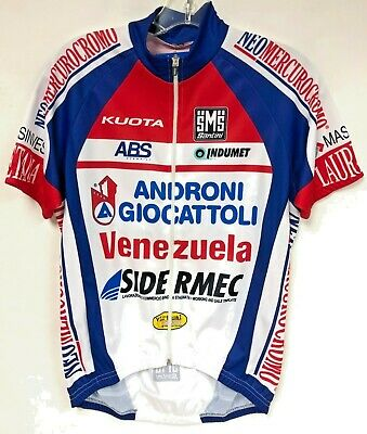 2015 Androni Short Sleeve Cycling Jersey - Made in Italy by Santini 768aaf0f0