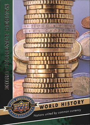 2009 Upper Deck 20th Anniversary #1714 Euro Currency Debuts