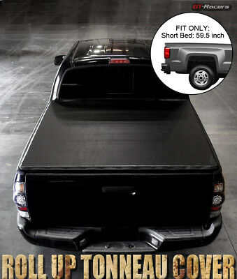 Lock & Roll Soft Tonneau Cover For 2005-2016 Frontier Crew Cab/equator 5 Ft Bed