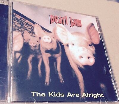 PEARL JAM - THE KIDS ARE ALRIGHT  - CD LIVE USA 1993 NO CDr RARO SEALED MINT