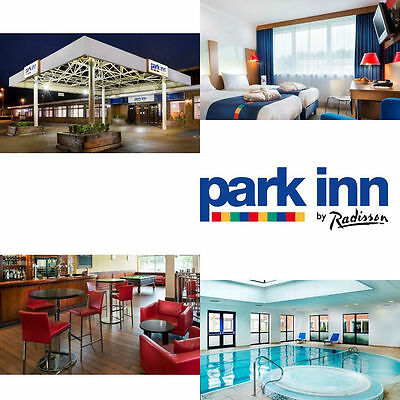 Cheap Hotel & Spa Break GR. LONDON Park Inn Harlow with Prosecco & Dinner for 2!