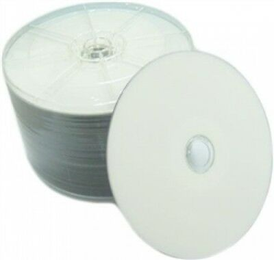 50 Grade A 16X DVD+R 4.7GB White Inkjet Hub Printable (Shrink Wrap)
