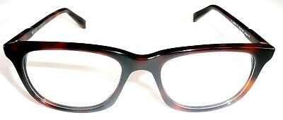 WARBY PARKER SULLIVAN Eyeglass Frames CROOKED Wood Tortoise 215 50-18-142 >NEW<