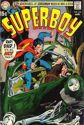 SUPERBOY! lot of 5 different vintage 1990s or earlier comic books + FREE COMICS!