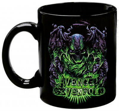 "AVENGED SEVENFOLD ""DARE OR DIE"" Coffee mug 12oz ceramic NEW"