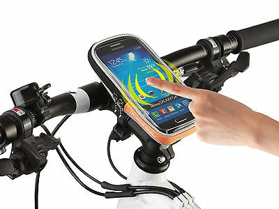 ROSWHEEL Cycling Bike Bicycle Holder Front Frame Handlebar Bag Pouch Phone Case
