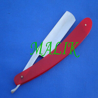 Straight Razor with Red handle New Free shipping USA