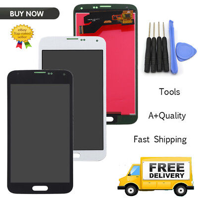 For iPhone 4S Black/White LCD Touch Screen Front Glass Digitizer Assembly /Screw