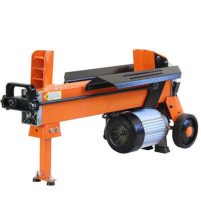 5 Ton Electric Log Splitter Wood Axe Hydraulic Cutter With Duo Blade  Fm10D