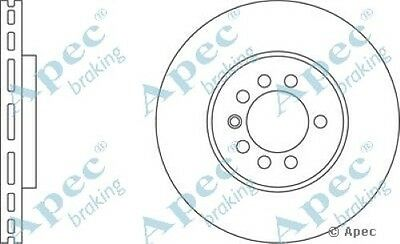 1x OE Quality Replacement Front Axle Apec Vented Brake Disc 5 Stud 280mm Single