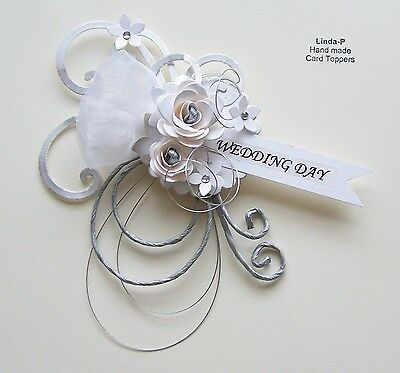 3D Wedding Day Card Craft Topper, Embellishment  Wed-Day-1