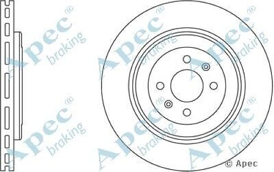 1x OE Quality Replacement Front Axle Vented Brake Disc 4 Stud 280mm Pair