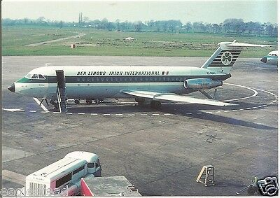 Airline Postcard - Aer Lingus - BAC 1-11 - EI-ANH (P3655)