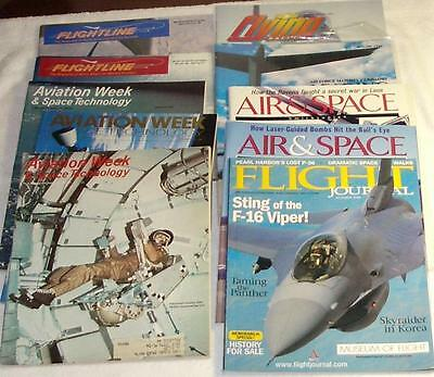 Airplane Aviation Mixed Lot of Magazines Lot of  10 Printed in US