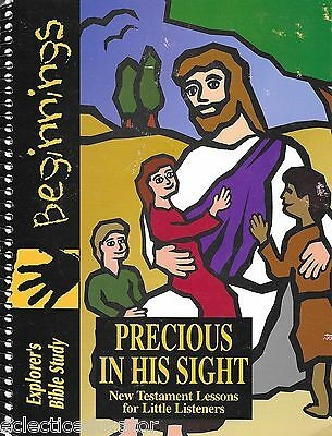 Explorer's Bible Study Beginnings Precious in His Sight New Testament Preschool