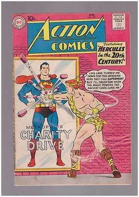 Action Comics # 267  Hercules in the 20th Century !  grade 4.0 Silver Age DC