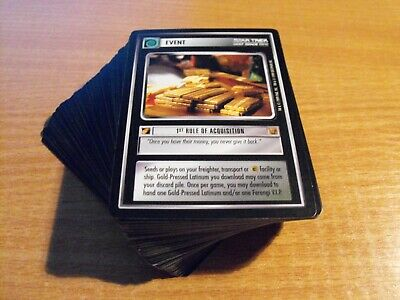 Star Trek Ccg Rules Of Acquisition Common Set