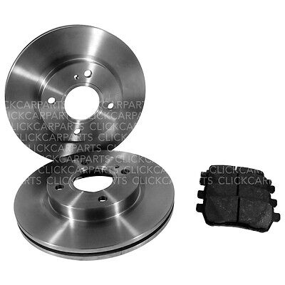 Ford Fiesta Genuine Apec Front Brake Discs And Pads 10/2008 - Onwards