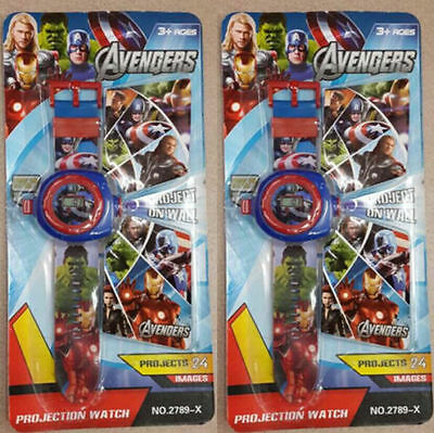 Lot The Avengers Children Kids Projection Watch Party Gift Different 24 images