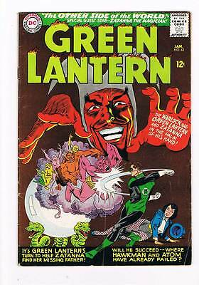 Green Lantern # 42 The Other Side of the World !! grade 4.5 scarce book !!