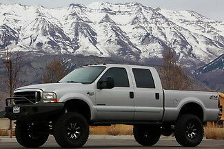 Ford : F-250 XLT 4x4 7.3 l powerstroke diesel 4 x 4 off road cd tint pro comp lift 2 owner certified