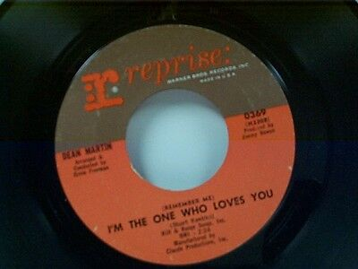 """DEAN MARTIN """"I'M THE ONE WHO LOVES YOU / BORN TO LOSE"""" 45 MINT"""