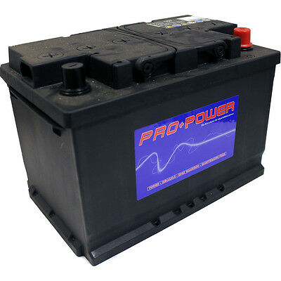 1x Replacement 66Ah 620CCA 12v Type 067 Car Battery 2 Year Warranty - BAT067