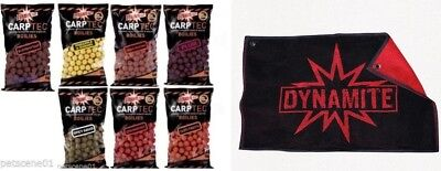 DYNAMITE BAITS CARPTEC 15MM BOILIES 1KG  CARP TEC or HAND TOWEL or bait drill