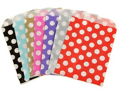 Polka Dot Spot Paper Sweet Pick N And Mix Bag Gift Bags Wedding Candy Cart