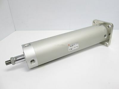 """New SMC NCGGN63-0800 High Speed Cylinder, Double Acting, 2-1/2"""" Bore, 8"""" Stroke"""
