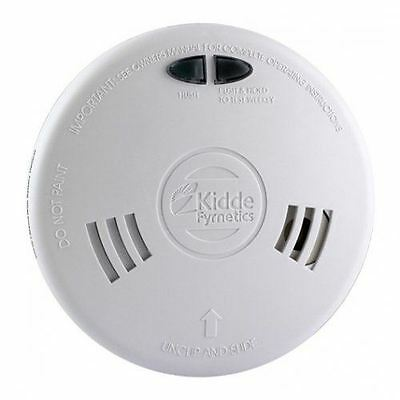 Kidde Slick 1Sfw Ionisation Smoke Alarm Detector 230V Hard Wired Battery Back Up