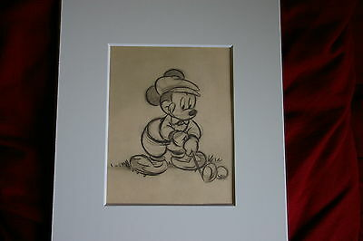 disney mickey mouse ultimate golf gift art print sketch perfect golfer picture