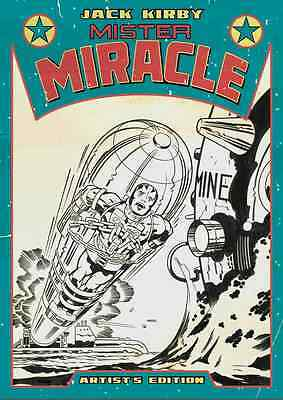 Jack Kirby's Mister Miracle Artist Edition Hardcover IDW Comic Book Art