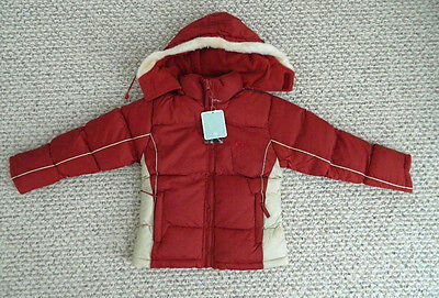 nwt boys girls winter jacket down ski cold weather water resistant $99 size 12