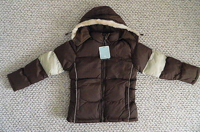 nwt boys  winter jacket down ski cold weather water resist puffer $99 size 6/6x